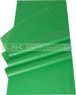 1500 SMALL SHEETS OF GREEN ACID FREE TISSUE PAPER SIZE 350x450mm GIFT WRAP - NEW