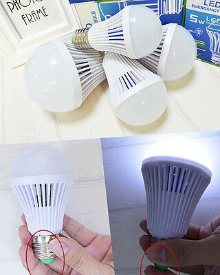 Energy Saving Battery - Energy Saving Emergency Lamps LED Intelligent Bulb 5W 7W 9W12W  Battery Lights
