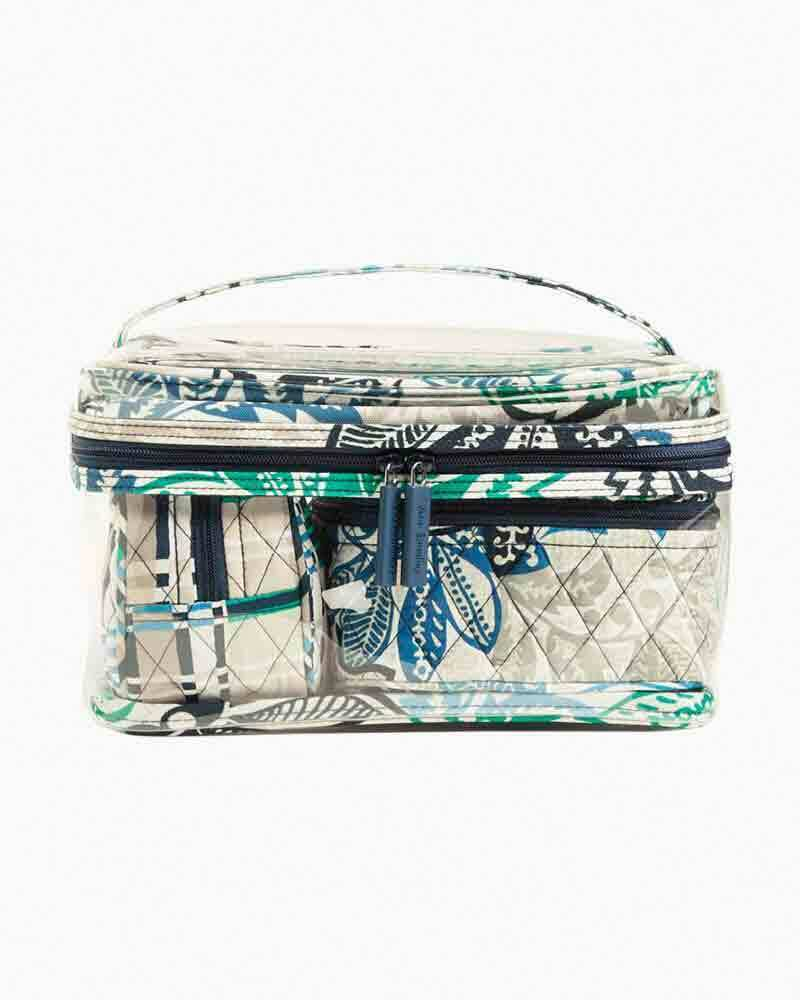 BNWTS Vera Bradley Travel Cosmetic Set 4 PIECE  BAG SANTIAGO