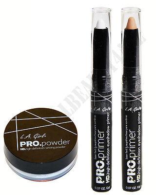 PRO HD Translucent Setting Powder & Eyeshadow Primer Stick -
