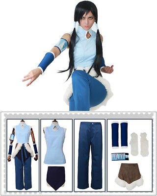 Avatar The Legend of Korra Game Cosplay Costume Outfits](Avatar Womens Costume)