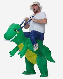 Adulto-Hinchable-Dinosaurio-Disfraz-Disfraz-Halloween-Ciervo-de-gallina