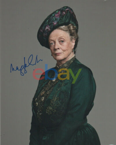 Maggie Smith Downton Abbey Autographed Signed 8x10 Photo reprint