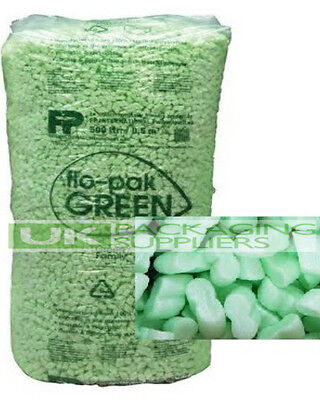 15 CUBIC FOOT FLOPAK SUPER 8 POLYSTYRENE VOID LOOSE FILL PACKING PEANUTS OFFER