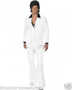 CL211 1970'S Suit Groovy Dancer Mens Fancy Dress 70s Party Retro Costume Disco