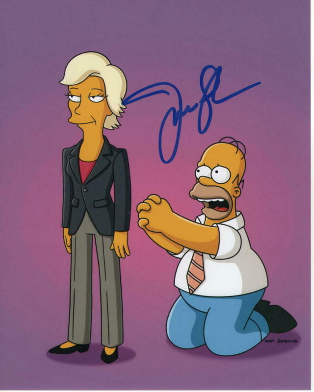 JANE LYNCH SIGNED AUTOGRAPHED 8X10 PHOTO - WRECK-IT RALPH, GLEE, SIMPSONS