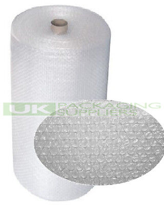 3 SMALL BUBBLE WRAP ROLLS 1200mm (1.2m) WIDE x 100 METRES LONG PACKAGING - NEW