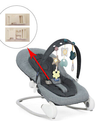 1 White Harness Seat Clip for CHICCO Baby Infant Rocker Bouncer Swing Sleeper