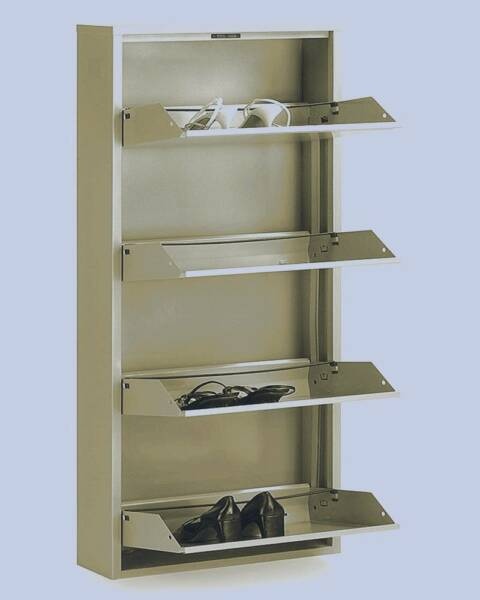 New 3 / 4 Tier Shelf Metal Shoe Cabinet Storage Organiser Case | Cabinets |  Gumtree Australia Brisbane South West   Richlands | 1142960980 Part 18