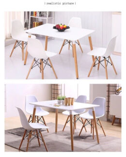 Brand New Dining Set 3 Color Chairs 4/6 Chairs