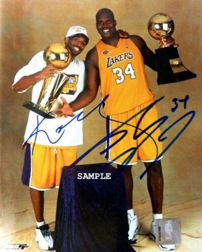 Kobe Bryant Shaq Signed Autographed Reprint Photo Photograph RP Lakers