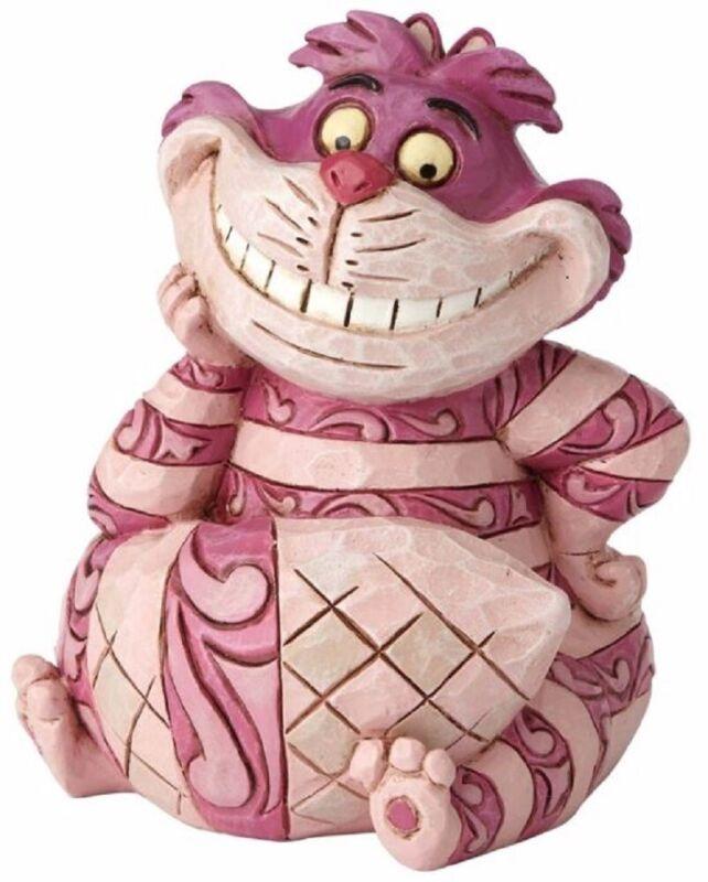 Jim Shore Disney Mini Cheshire Cat Figurine Alice and Wonderland 4056745 New