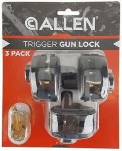 New - GUN TRIGGER LOCKS - KEEP YOUR FIREARMS LOCKED AND PREVENT ACCIDENTAL FIRING !!