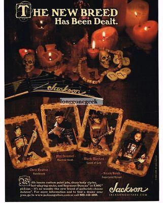 2005 JACKSON Electric Guitars CHRIS BEATTIE Phil Demmel MARK MORTON Vintage Ad