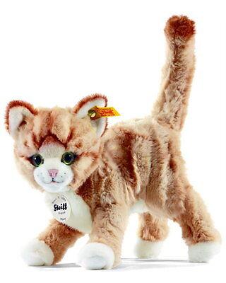 Steiff Katze Mizzy 25cm blond stehend Kuscheltier Plüsch 30°C Geschenk 099342