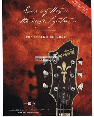 2005 HAGSTROM Super Swede Electric Guitars Vintage Ad
