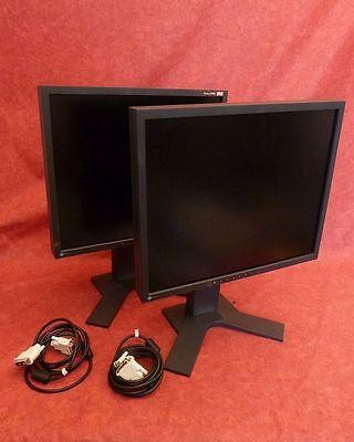 2 x EIZO Flexscan TFT-Monitor Modell S1921  48,6 cm (19) Farbe schwarz