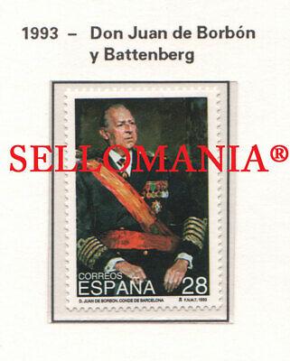 Don Juan De Bourbon (1993 DON JUAN DE BORBON Y BATTENBERG 3264 ** MNH TC22324)