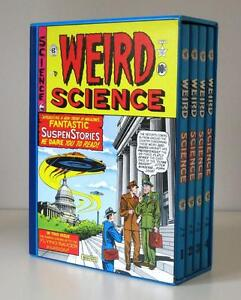 Complete Weird Science, 4 Volume Boxed Set Hardcover