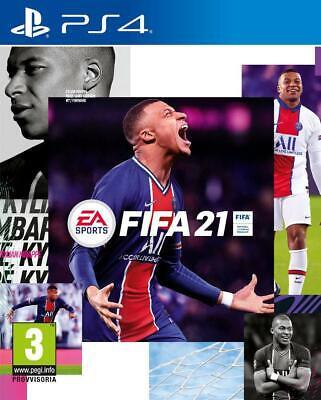 PS4 FIFA 21 CD PLAYSTATION 4 UPGRADE PS5 PLAYSTATION 5 NUOVO ORIGINALE