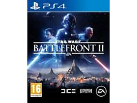PS4 Games - Star Wars Battlefront II / Call Of Duty Infinite Warfare Legacy Edition