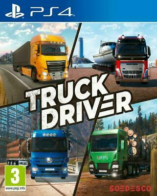Truck Driver PS4 PlayStation 4 Driving Simulator
