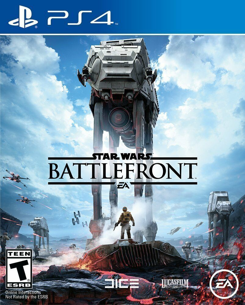$27.15 - Star Wars: Battlefront - PlayStation 4 Ps4 Games Sony Brand New Factory Sealed