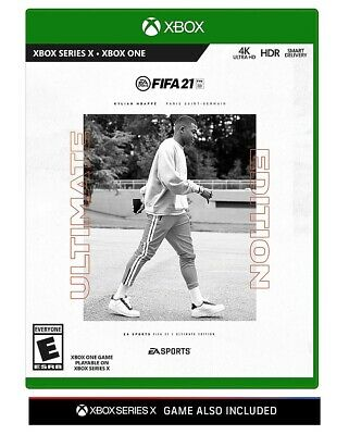 Xbox One - FIFA 21 (Ultimate Edition) Brand New & Sealed - Soccer Series X Game