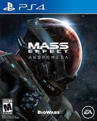 $25.71 - Mass Effect Andromeda - PlayStation 4 Brand New Ps4 Games Sony Factory Sealed