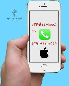 Service  Réparation iPhone/ iPad  à Laval #1 - Satisfaction Garantie - 4/4s/5/5s/5c/5SE/6/6s/6+