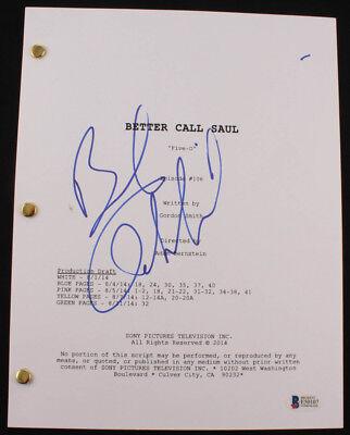 """Bob Odenkirk Signed """"Better Call Saul: Five-O"""" Full Episode Script (Beckett COA)"""