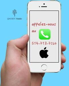 Réparation iPhone à Laval - Pièces 100 % d'origine - 514-713-7264 4s/5/5s/5c/6 remplacement écran brise / cracked screen