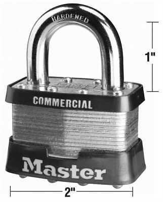 Master Lock Company 5ka A112 Number 5 2 In. Bodylock Laminated Steel Padlock