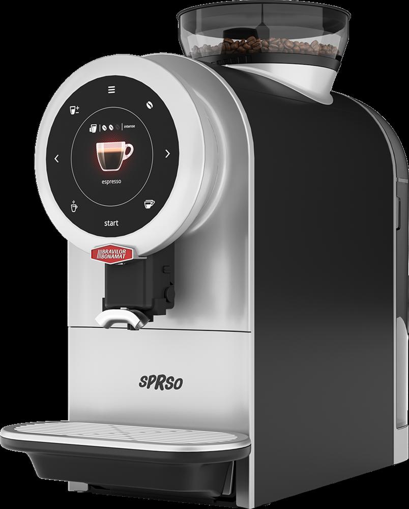 Bonamat SPRSO Kaffeevollautomat Espressomaschine 2,2lt. Tank Mühle Touchdisplay