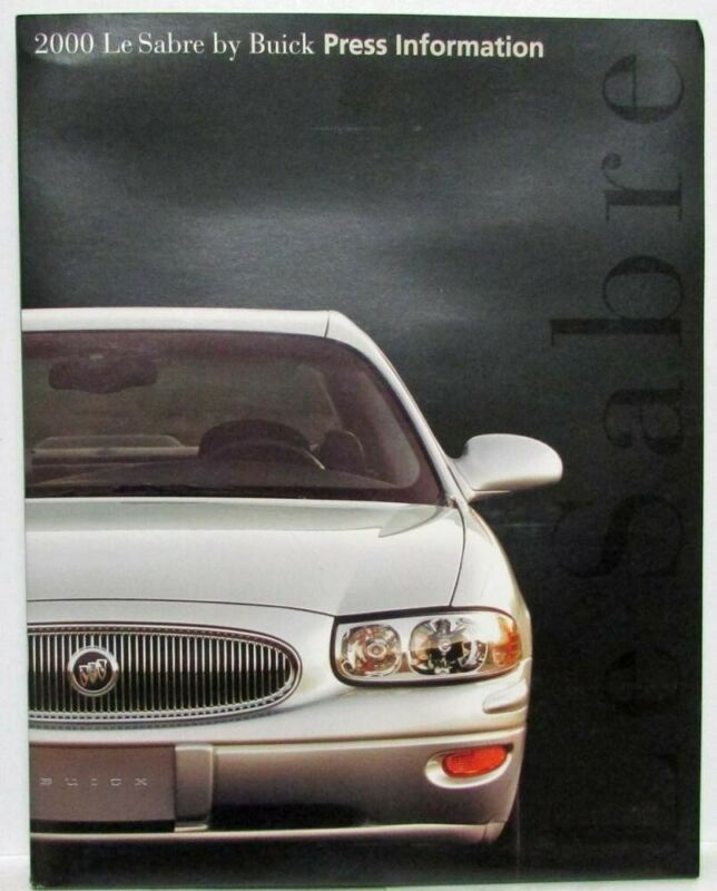 2000 Buick LeSabre Press Kit