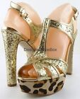 GUESS Party Leopard Heels for Women