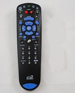 DISH-NETWORK-BEV-4-0-TV2-2-UHF-IR-Pro-Remote-Control-Dual-322-3200-Model-132577