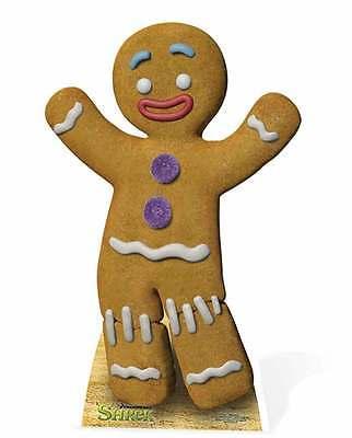 GINGY THE GINGERBREAD MAN FROM SHREK LIFESIZE CARDBOARD CUTOUT/ - DREAMWORKS - Gingerbread Man From Shrek