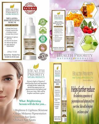 100% Natural & Organic Melasma Treatment for Face. Best Brightening Serum