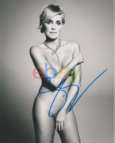 Sharon Stone Autographed 8x10 Signed Photo reprint
