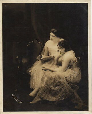 RARE Autographed Photograph of The Courtney Sisters - well known Theatre Stars