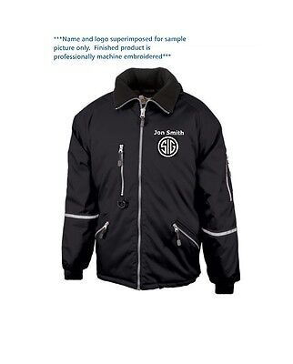 Tactical Jacket Custom Embroidered with Name and/or Favorite Gun Logo Custom Embroidered Nylon Jacket