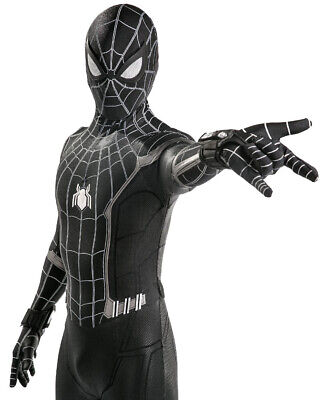 Black Spider-Man Homecoming Cosplay Costume Spiderman Jumpsuit For Adult & Kids