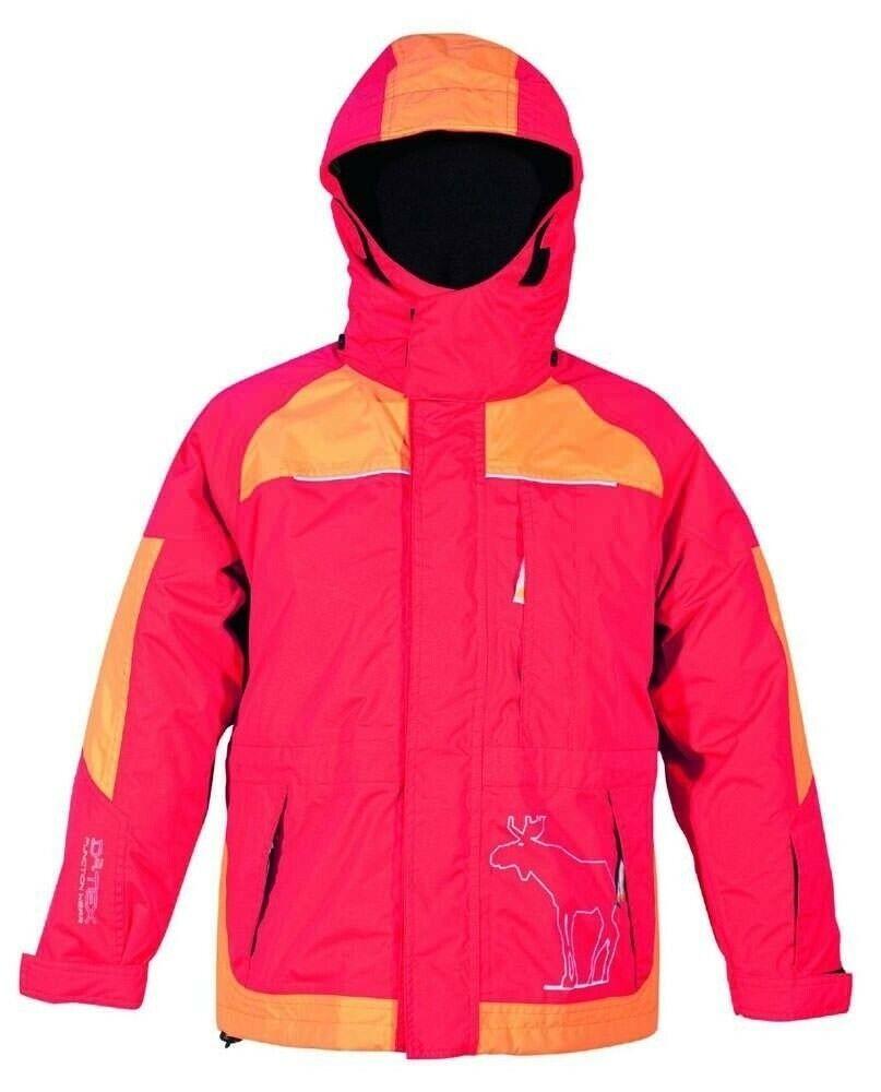 Doppeljacke ASPEN Kinderjacke Winter Deproc  3 in 1 Jacke rot/orange 158/164
