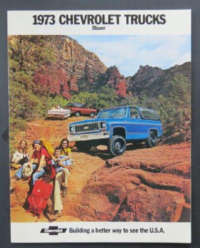 1973 Chevrolet Blazer Dealer Sales Brochure