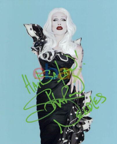 Sharon Needles signed autographed 8x10 photo reprint
