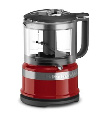 KitchenAid RKFC3516ER 3.5 Cup Mini Food Processor, Empire Red