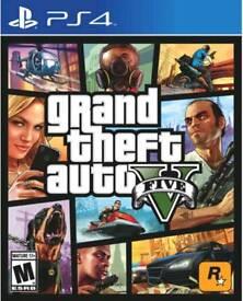 Playstation 4 Games. Grand Theft Auto, Gran Turismo, Prey
