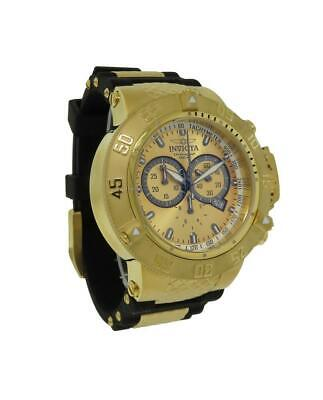 Invicta Subaqua 5517 Men's Round Analog Chronograph Date Polyurethane Watch