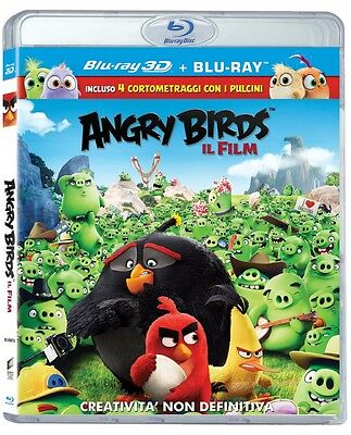 ANGRY BIRDS. IL FILM - BLU RAY 3D  BLUE-RAY ANIMAZIONE